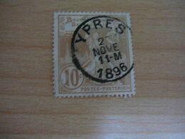 (14.08) BELGIE 1896 Nr 72 Afstempeling YPRES - 1894-1896 Exhibitions