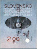 2020 Stop Pandemic Corona Virus Covid Covid19 Protection SLOVAKIA Slovacchia Slowakei Stamp - Briefmarken