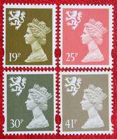 19p 25p 30p 41p Value MACHIN Scotland (Mi 65-68) 1993 POSTFRIS MNH ** ENGLAND GRANDE-BRETAGNE GB GREAT BRITAIN - Regionali
