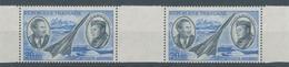 Mermoz Et Saint-Exupery PA N°44c Paire Horizontale 20f  Bleu Et Gris-bleu YA44c - 1960-.... Nuevos