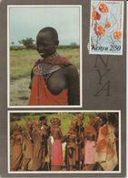 2033-919 Nu Af Noire  Kénya   Vente  Retirée  Le 30-08 - South, East, West Africa