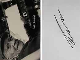 Niki LAUDA - Signé / Hand Signed / Dédicace Authentique / Autographe - Grand Prix / F1