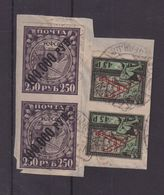 RUSSIE : N° 9 . OBL . SUR FGT . 1864 . TB - 1917-1923 Republic & Soviet Republic