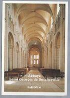 FR.- SAINT MARTIN DE BOSCHERVILLE. ABBAYE St. GEORGES. PROGRAMME DES CONCERTS 1993. - Musique Et Musiciens
