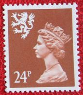 24p Value 14¾:14¼ MACHIN Scotland (Mi 62C) 1991 POSTFRIS MNH ** ENGLAND GRANDE-BRETAGNE GB GREAT BRITAIN - Regionali