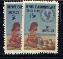 DOMINICAN REP., SET, NO.'S 688 AND C190, MLH - Dominikanische Rep.