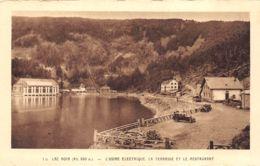 Orbey (68) - Lac Noir - L'Usine Electrique - La Terrasse Et Le Restaurant - Orbey