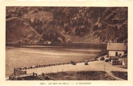 Orbey (68) - Lac Noir - Le Restaurant - Orbey