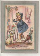CPA - (illustrateurs-signés) GERMAINE BOURET - Les Hommes Faut Toujours Les Faire Attendre - Bouret, Germaine