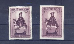 Nrs. 592A/B Postgaaf ** MNH Prachtig 45 Côte - Belgium