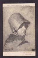 CPA Autographe Signature à L'encre écrite Par Le Peintre Jean Jeannet - Handtekening