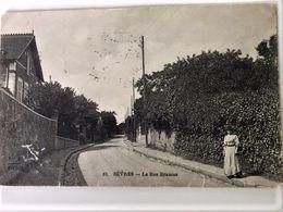 Oude Postkaart Dd 04/10/1917 Postkaart Van Frontsoldaat Maurice De Corte Aan Zijn Zussen In Sèvres Les Enfants De L'Yser - Sevres