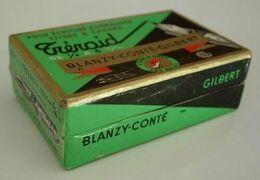 Boite De Plumes (vide) Tréraid Blanzy Conté Gilbert - Vulpen