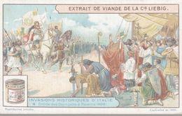 CHROMO LIEBIG  INVASIONS HISTORIQUES D'ITALIE ENTREE DES OSTROGOTHS A RAVENNE - Liebig