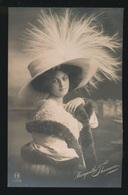 JOLIE FEMME  MOOIE VROUW   : CARTE PHOTO  FOTOKAART - Femmes