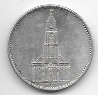 *germany  5 Mark 1935 G Km 83     Vf+ - [ 4] 1933-1945 : Third Reich