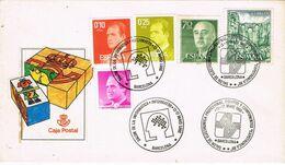 37359. Carta BARCELONA 1988. Doble Fechador  Salon INFORMATICA Y Salon ELECTRONICA - 1931-Heute: 2. Rep. - ... Juan Carlos I