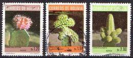 Bolivia Used Stamps - Sukkulenten