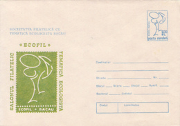 ENVIRONMENT PROTECTION,ECOLOGY PHILATELIC EXHIBITION, COVER STATIONERY, ENTIER POSTAL, 1991, ROMANIA - Protección Del Medio Ambiente Y Del Clima