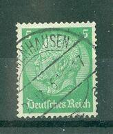 ALLEMAGNE (III Reich) - N° 486 Oblitéré - 85° Anniversaire Du Maréchal Hindenburg. - Allemagne