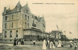 Ste Marguerite * Pornichet * L'hôtel De La Plage Et Sa Terrasse Vue Sur La Mer - Pornichet