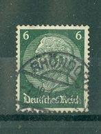 ALLEMAGNE (III Reich) - N° 487 Oblitéré - 85° Anniversaire Du Maréchal Hindenburg. - Allemagne