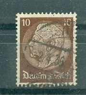 ALLEMAGNE (III Reich) - N° 489 Oblitéré - 85° Anniversaire Du Maréchal Hindenburg. - Allemagne