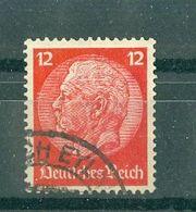 ALLEMAGNE (III Reich) - N° 490 Oblitéré - 85° Anniversaire Du Maréchal Hindenburg. - Allemagne