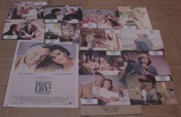 AFFICHE CINEMA ORIGINALE FILM THAT'S LIFE + 12 PHOTOS EXPLOITATION EDWARDS LEMMON ANDREWS 1986 - Affiches & Posters