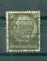 ALLEMAGNE (III Reich) - N° 494 Oblitéré - 85° Anniversaire Du Maréchal Hindenburg. - Allemagne