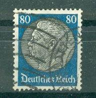 ALLEMAGNE (III Reich) - N° 497A Oblitéré - 85° Anniversaire Du Maréchal Hindenburg. - Allemagne
