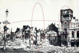 De Oorlog 1940 - 45 (15 X 10)(c+o). Ruines Van De Oorlog Te Oostende - Ostende War - Guerre - War, Military
