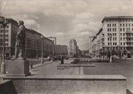 Berlin, Stalinallee - Blick Zum Strausberger Platz - 1957 - Autres