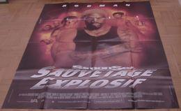AFFICHE CINEMA ORIGINALE FILM SIMON SEZ : SAUVETAGE EXPLOSIF Kevin ELDERS Dennis RODMAN 1999 TBE - Affiches & Posters