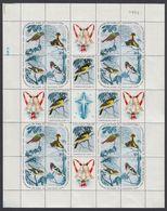 FORMATO ESPECIAL. CUBA 1965. AVES. NAVIDADES. MNH. EDIFIL 1256/70 - Ongebruikt