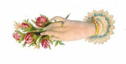 Grand Decoupi, Main Tendue, Fleurs, - Flowers