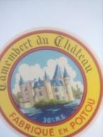 ETIQUETTE/CAMEMBERT/DU CHATEAU/POITOU - Fromage