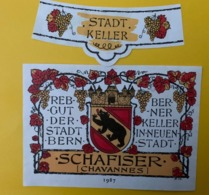 15565 - Rebgut Der Stadt Bern Schafiser 1987 - Other
