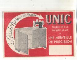 Buvard Unic, La Merveille De Précision (machine à Coudre) - Löschblätter, Heftumschläge