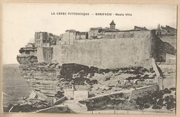 CPA [20] Corse Du Sud - Bonifacio - Haute Ville - France