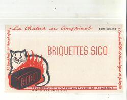 Buvard Briquettes Sico - Idrocarburi