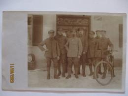 Murnau Am Staffelsee, Soldaten KB IR 32 Mit Fahrrad, 1917 (14812) - Deutschland