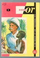 Plaquette CLUB ROUGE ET OR Novembre 1955 (M0615) - Advertising