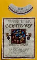 15571 - Freienesteiner Geistig-Wy 1986 Edler Blauburgunder Beerli - Other