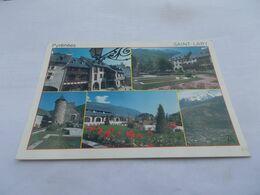 SAINT LARY SOULAN  ( 66 Pyrenees Orientales ) MULTIVUES  VOYAGEE 1992  FLAMME ST LARY SOULAN - Frankreich
