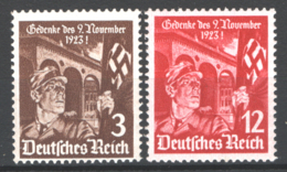 Germania Reich 1935 Unif. 557/58 **/MNH VF/F - Unused Stamps