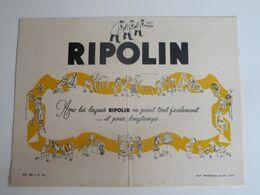 RIPOLIN - Avec Les Laques RIPOLIN On Peint Tout Facilement.....et Pour Longtemps - Verf & Lak