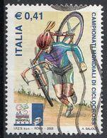 """Italia 2003 Uf. 2707 """"Campionati Mondiali Di Ciclocross. Monopoli""""  Viaggiato Used - Ciclismo"""