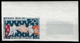 France N°1223 **  BdF Non Dentelé 1959 - Francia