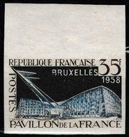 France N°1156 **  BdF Non Dentelé 1958 - Francia